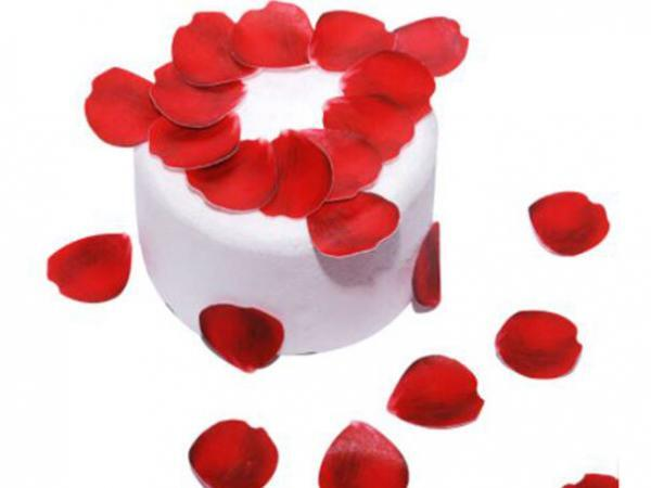 rose petal toppers